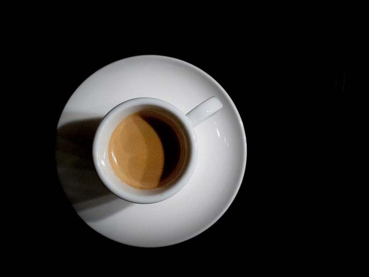 Espresso - von oben
