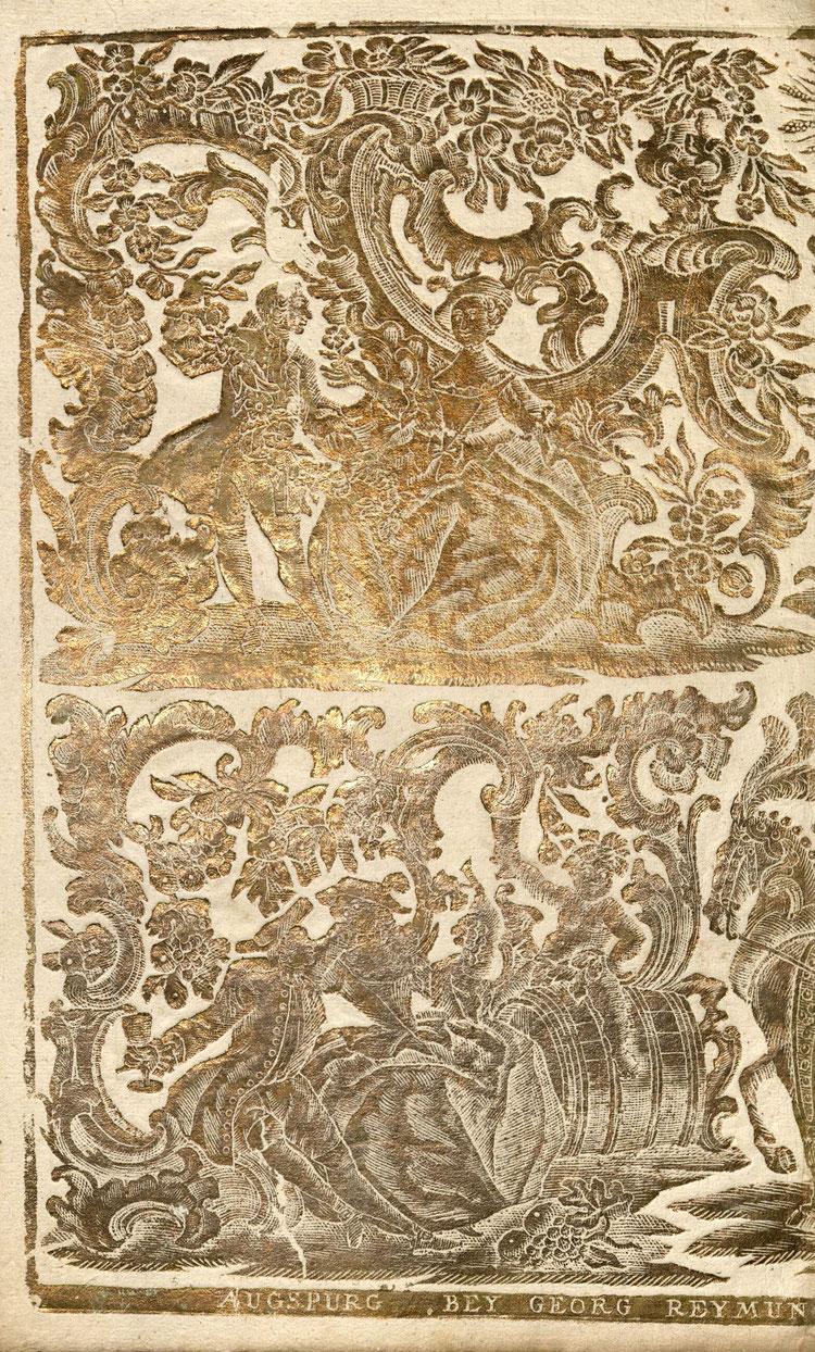 Reliefiertes Papier, Quelle: Archivverbund Main-Tauber, Signatur: StAWt - R Rep. 87 d Nr. 211 )*