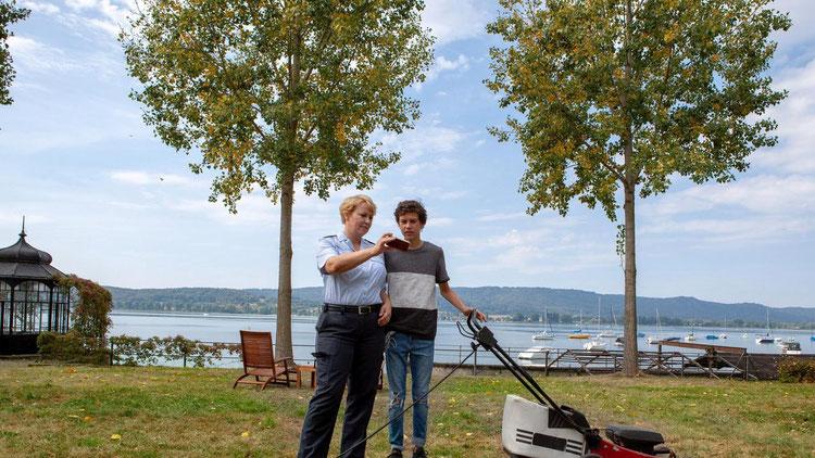 Noah Calvin & Floriane Daniel © ARD/ Daniel Schmid