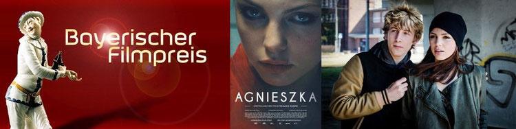 Filmpreis, Filmplakat, Szenenbild mit Lorenzo Nedis Walcher und Karolina Gorczyka: BR/Kordes & Kordes Film Süd GmbH/Alicja Zmyslowska