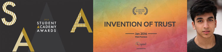 Banner Student Academy Awards,  © 2015 Academy of Motion Picture Arts and Sciences, Omid Memar © Martin Douglas
