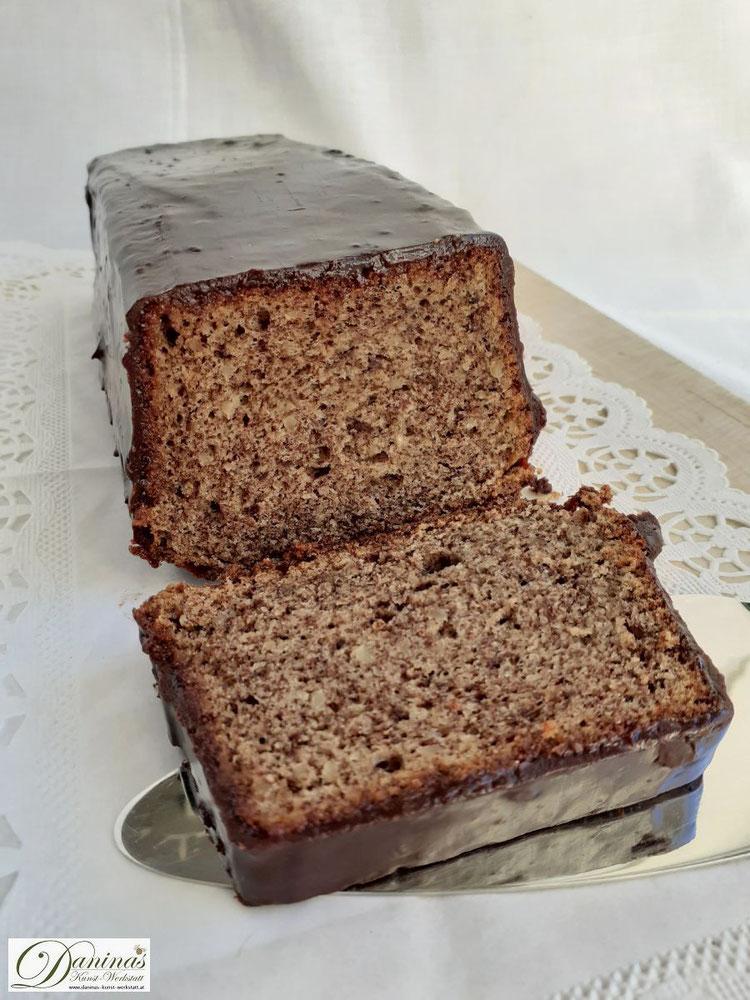 Schokokuchen mit Mandeln: Rehrücken Kuchen Konditorrezept by Daninas Dad