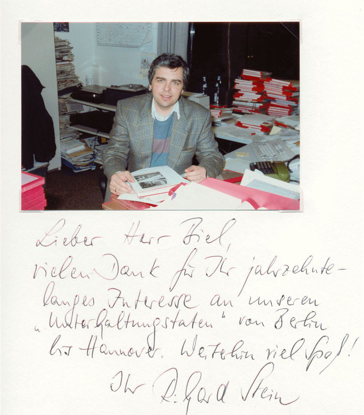 Nr. 43  Reinhard Stein, Hörfunkredakteur und -moderator