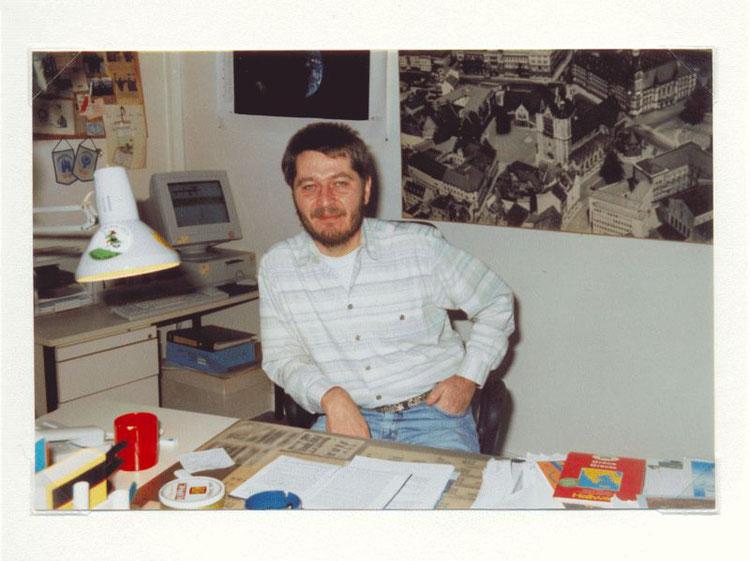 Nr. 45  Achilles Franke, Fernseh- und Hörfunkredakteur und -moderator, Studio Braunschweig