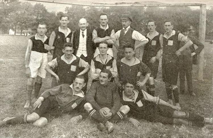 SC Admira Wien 1905 auf der Geyerwiese mit Obmann Friedrich Geyer