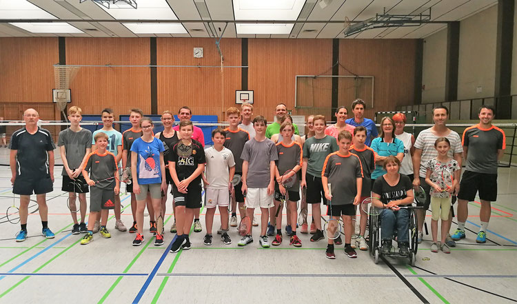 Teilnehmer/innen nach dem Turnier am 24.06.19