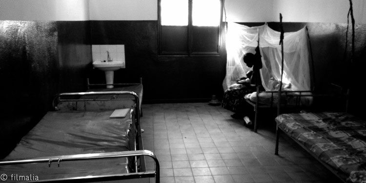 Descanso de hospital. Bamako. Malí.