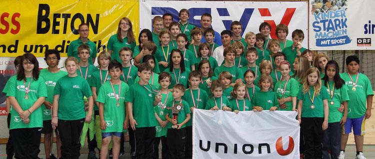 URCW Mannschaft bei der BM