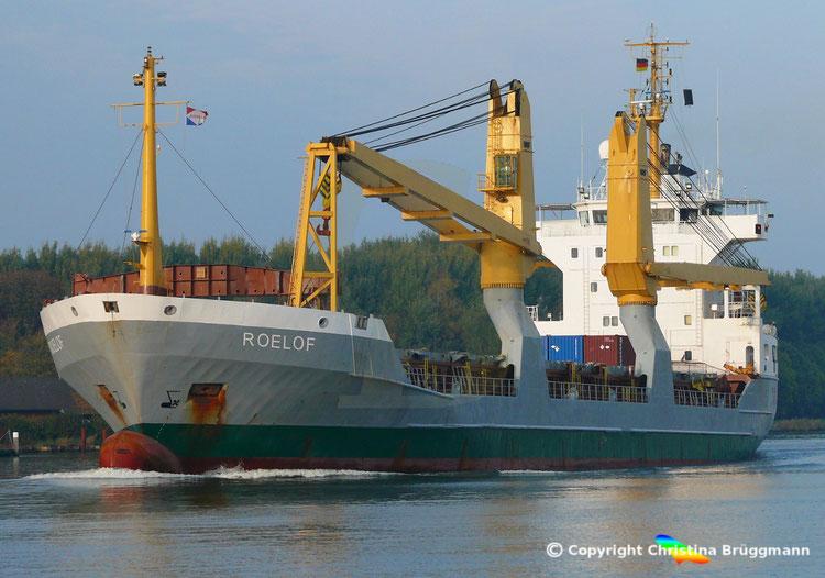 "Heavy Lift Vessel ""ROELOF"" , Sietas Typ 132, NOK 17.10.2018"