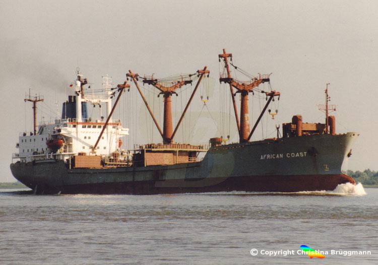 "General Cargo Ship""AFRICAN COAST"""