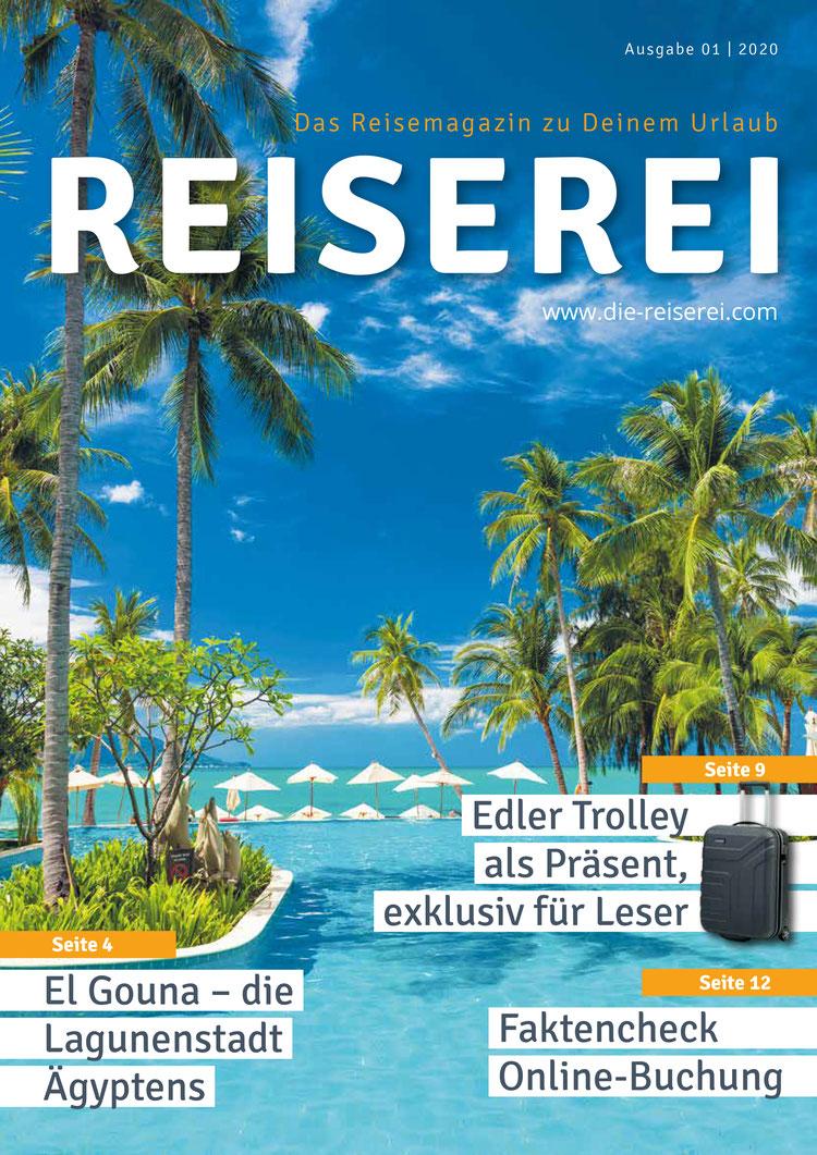 Das Reisemagazin der Reiserei