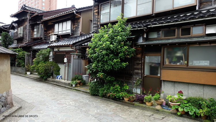 Quartier des Samouraï, Nagamachi,