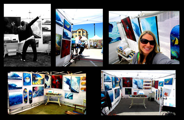 Some Art Festivals we were at in Dallas, Lubbock, Galveston and Fort Worth Tx