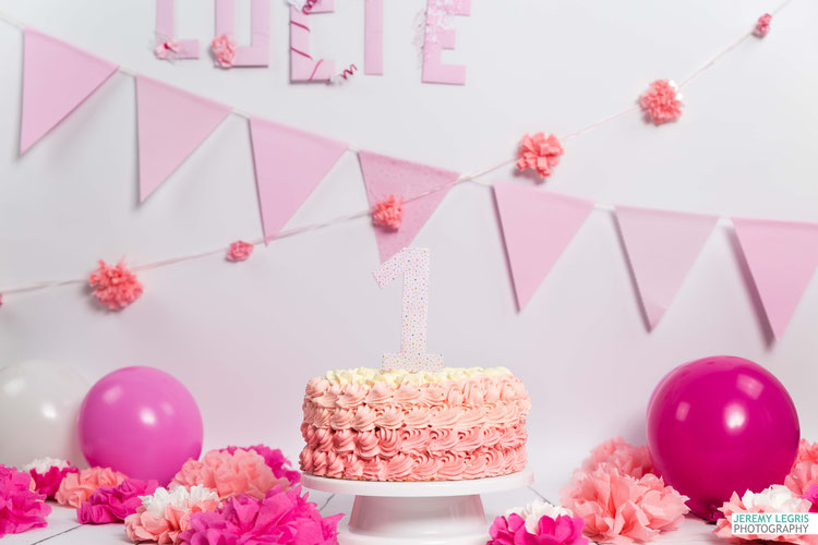 Shooting Photo Smash The Cake - La petite Lucie - Photographe sur Grenoble