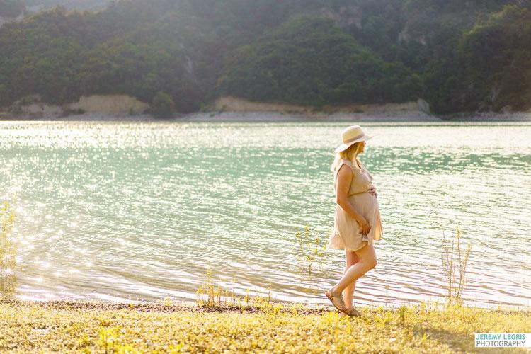 Séance Photo Grossesse Lac du Monteynard - JeremyLegris-Photography - Photographe sur Grenoble