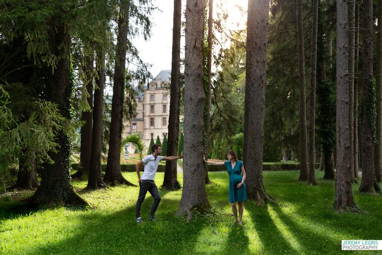Séance Photo Grossesse-Château de Vizille - JeremyLegris-Photography - Photographe sur Grenoble