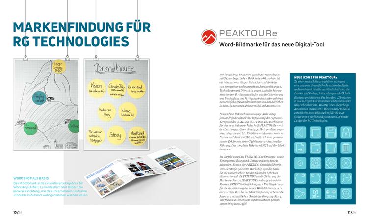 PEAKTOURe Markenfindung RG Technologies