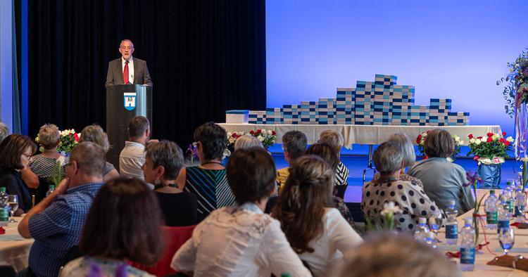 Charles Vincent Gastgeber Pensioniertenfeier 2020