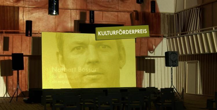 Norbert Bossart bekommt Kulturförderpreis Luzern 2020