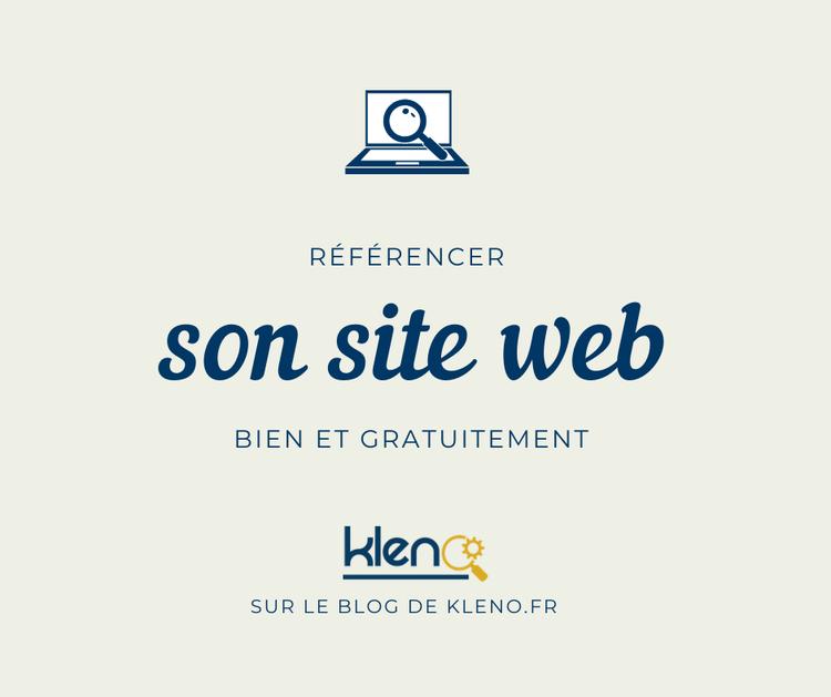 Comment bien référencer son site internet et gratuitement ?