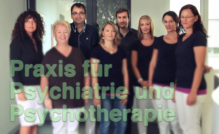 Das Praxisteam der Praxis Psychiatrie und Psychotherapie