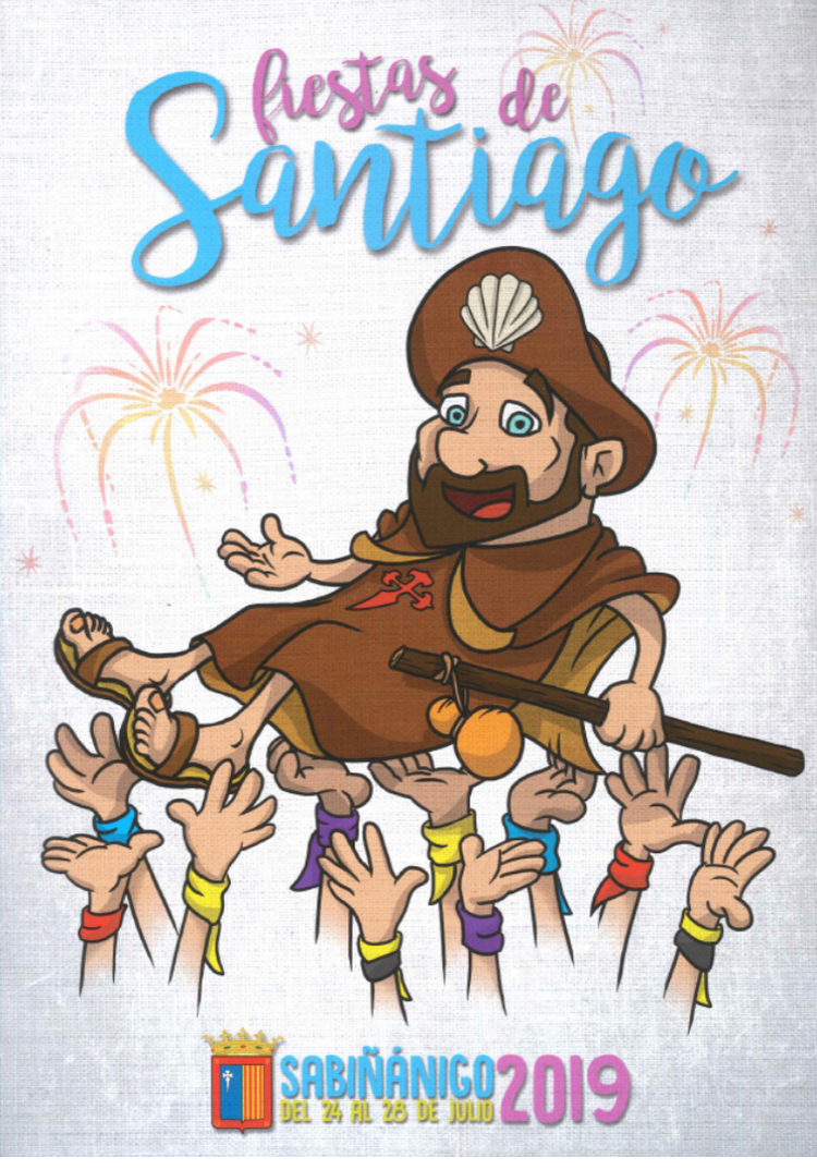 cartel fiestas sabiñanigo 2019