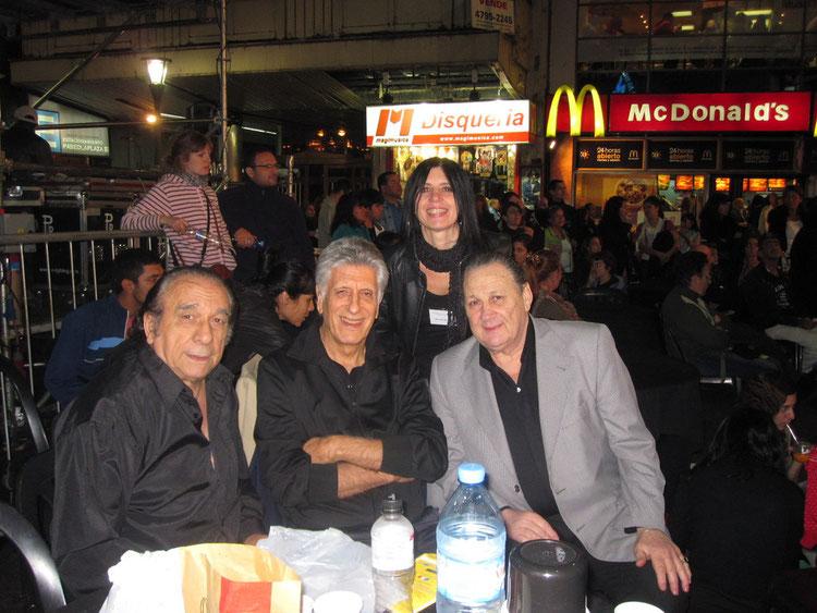 Eduardo Arquimbau, Claudo Segovia ( creador de Tango Argentino), Jorge Manganelli,, Maria Campos