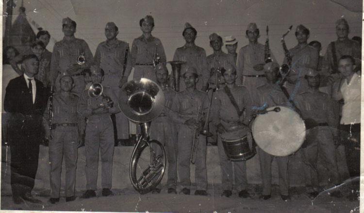 Banda do maestro J. Ratinho - 1970