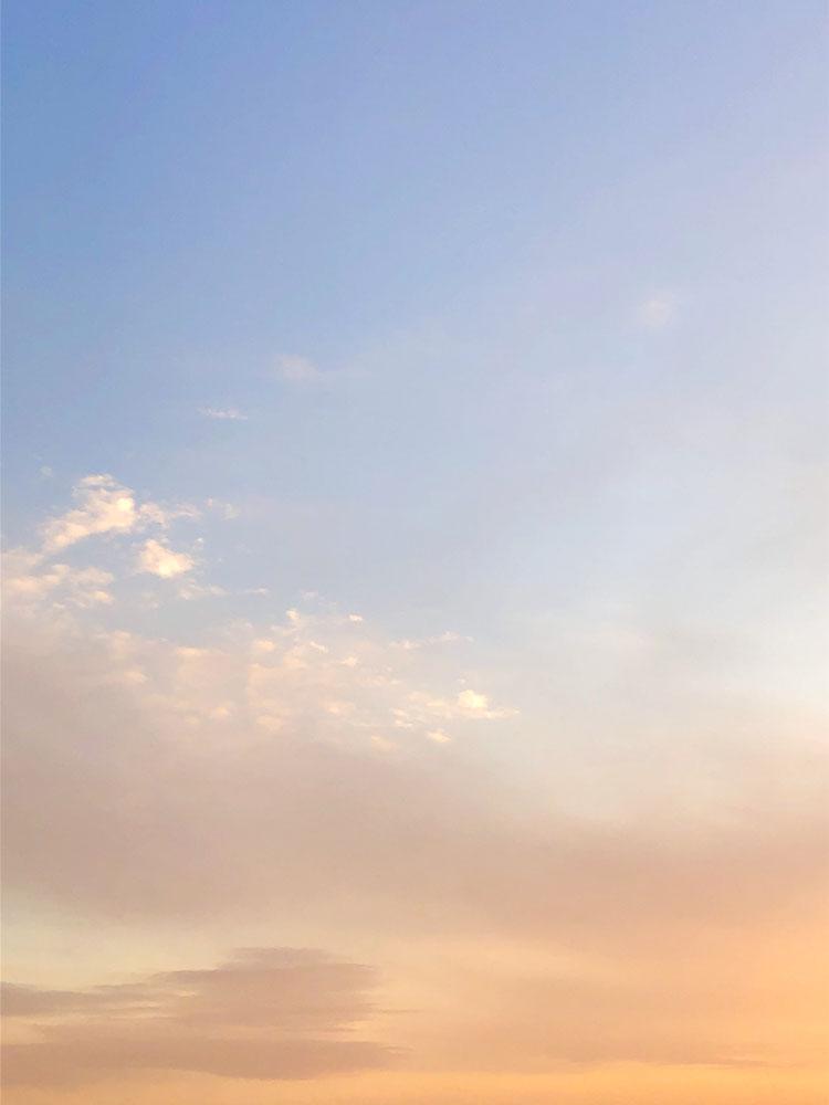 京都市下京区の心療内科、メンタルクリニック、夕焼け