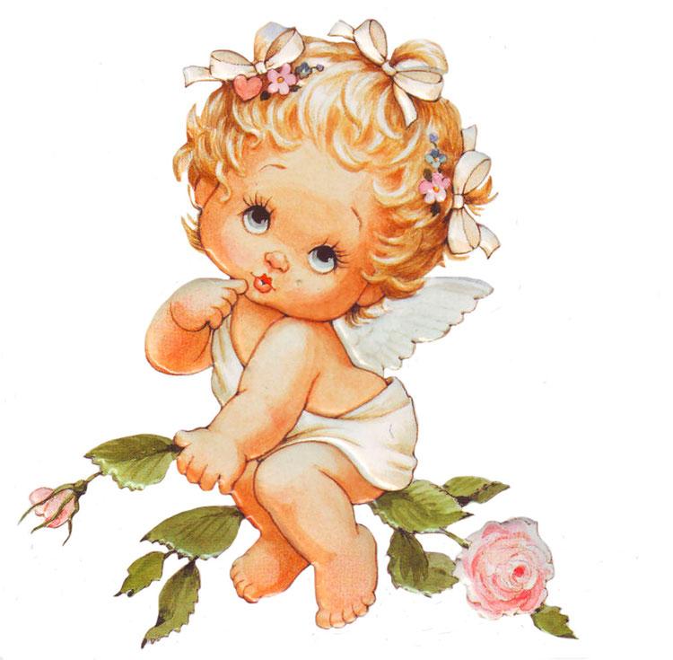 Открытки, открытки цветочек милый ангелочек