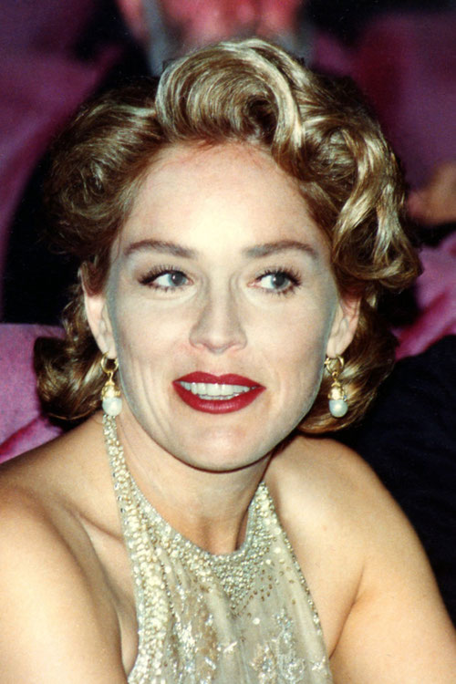 Sharon STONE - Festival de Cannes 1995 © Anik COUBLE