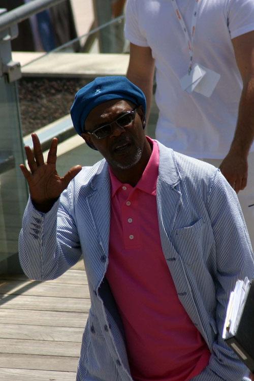Samuel L Jackson  - Festival de Cannes 2005 © Anik COUBLE