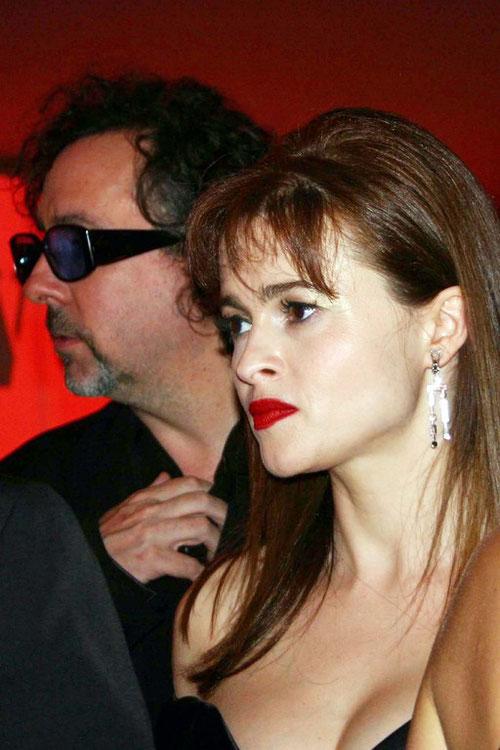 Tim BURTON  et sa compagne Helena BONHAM CARTER - Festival de Cannes  2006 © Anik COUBLE