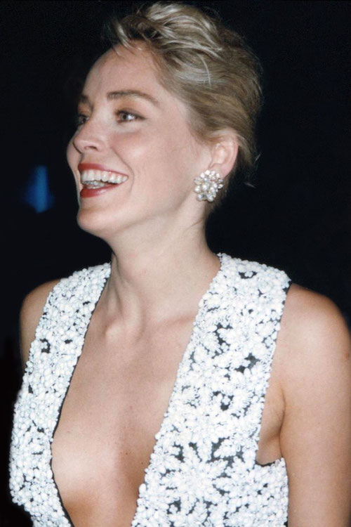 Sharon STONE - Festival de Cannes 1991 © Anik COUBLE