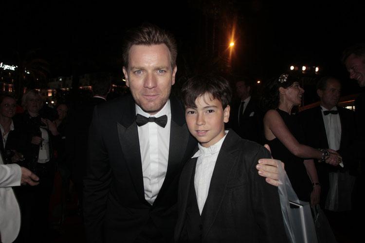 Ewan MAC GREGOR et Alan BADAOUI - COUBLE - Festival de Cannes 2012 © Anik COUBLE