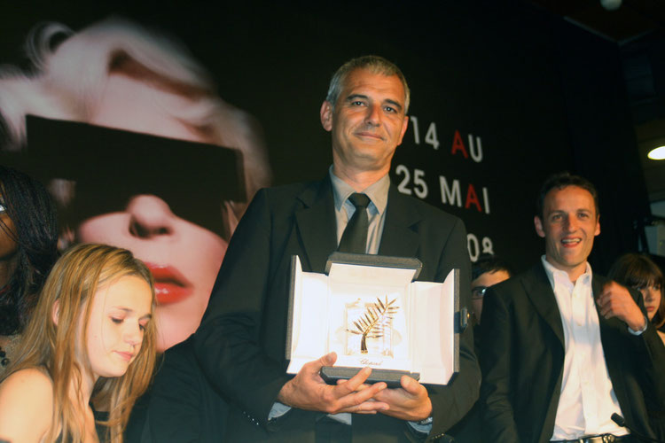 Laurent CANTET - Festival de Cannes 2008 © Anik COUBLE