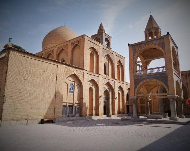 армянский собор джульфа исфахан иран