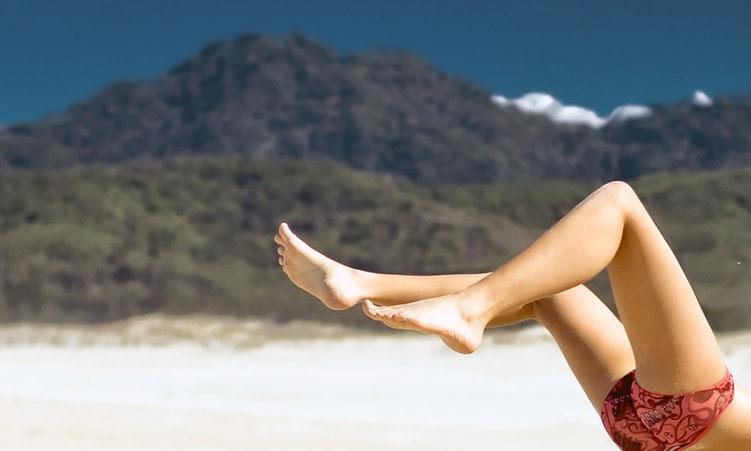 Frescobol ist der perfekte Strandsport
