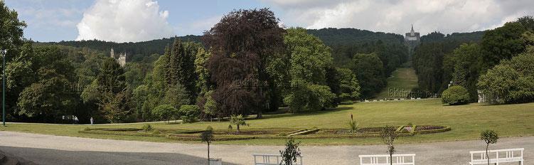 Weltkulturerbe, Bergpark Wilhelmshöhel, Blick zum Herkules