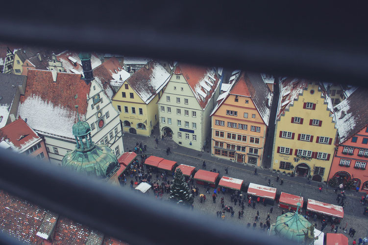 Rothenburg ob der Tauber Germany ofpenguinsandelephants of penguins & elephants town hall tower view