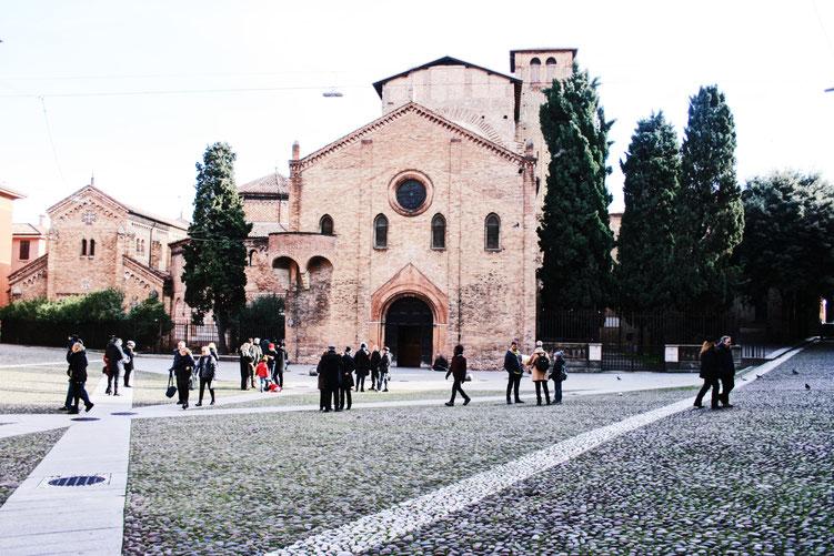 Bologna Italy City Guide ofpenguinsandelephants of penguins & elephants basilica di santo Stefano