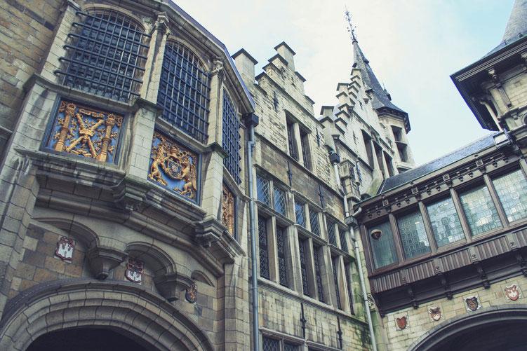 Antwerp Belgium ofpenguinsandelephants of penguins & elephants city castle Steen