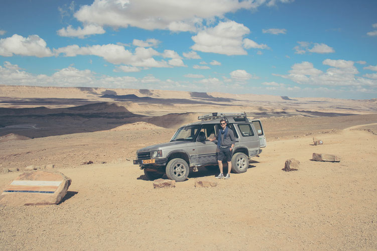 Israel ofpenguinsandelephants of penguins & elephants Jeep tour crater Machtesch Ramon Landrover