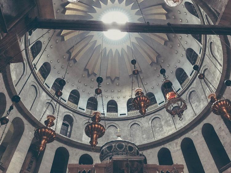 Jerusalem Israel ofpenguinsandelephants of penguins & elephants church of the holy sepulchre