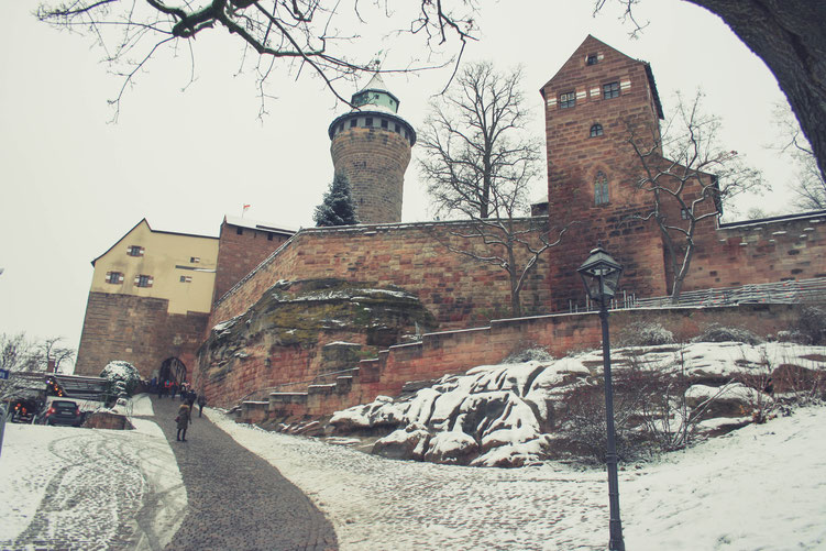 Nuremberg Germany ofpenguinsandelephants of penguins & elephants castle of Nuremberg