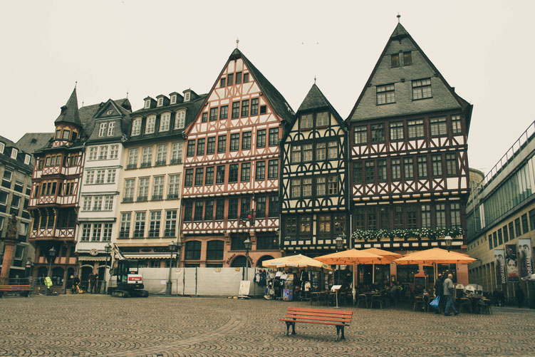 Frankfurt Germany ofpenguinsandelephants of penguins & elephants Römer old town