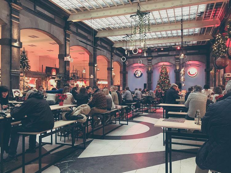 Antwerp Belgium ofpenguinsandelephants of penguins & elephants food hall food market Mercado