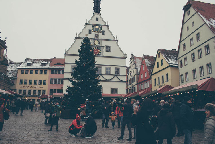 Rothenburg ob der Tauber Germany ofpenguinsandelephants of penguins & elephants Christmas market