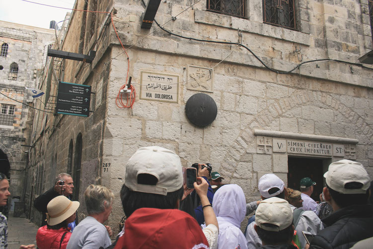 Jerusalem Israel ofpenguinsandelephants of penguins & elephants Via Dolorosa Jesus