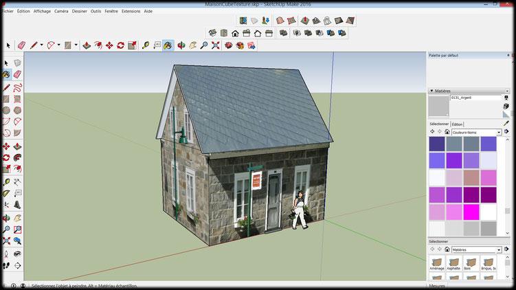 Modélisez Vos Images En 3D Avec Sketchup - Site Du Club Micad